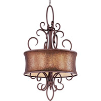 Maxim Lighting Alexander 5 Light Pendant in Umber Bronze 24164SBUB