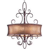 Alexander 6 Light 14 inch Umber Bronze Pendant Ceiling Light