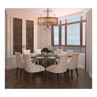Maxim Lighting Alexander 6 Light Pendant in Umber Bronze 24165SBUB alternative photo thumbnail