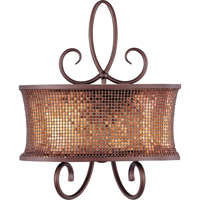 Maxim Lighting Alexander 2 Light Wall Sconce in Umber Bronze 24168SBUB