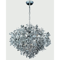 Comet 13 Light 35 inch Polished Chrome Pendant Ceiling Light