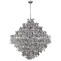 Comet 21 Light 50 inch Polished Chrome Pendant Ceiling Light