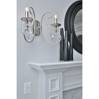 Maxim Lighting Montgomery 2 Light Wall Sconce in Polished Nickel 24309CLPN alternative photo thumbnail