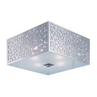Maxim Lighting Matrix 4 Light Flush Mount in Satin Nickel 24331FTSN