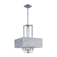 Maxim Lighting Matrix 4 Light Single Pendant in Satin Nickel 24334FTSN
