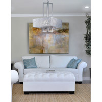 Maxim Lighting Matrix 4 Light Single Pendant in Satin Nickel 24334FTSN alternative photo thumbnail