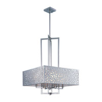 Maxim Lighting Matrix 8 Light Single Pendant in Satin Nickel 24335FTSN