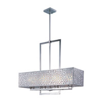 Maxim Lighting Matrix 8 Light Island Pendant in Satin Nickel 24337FTSN