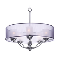 Maxim 24555SSSN Lucid 5 Light 26 inch Satin Nickel Pendant Ceiling Light