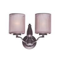 Lucid 2 Light 14 inch Oil Rubbed Bronze Wall Sconce Ceiling Light