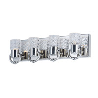 Crystol LED 18 inch Polished Nickel Vanity Light Wall Light