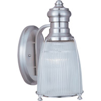 Hi-Bay 1 Light 9 inch Satin Nickel Wall Sconce Wall Light