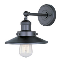 Maxim 25060BZ/BUI Mini Hi-Bay 1 Light 8 inch Bronze Wall Sconce Wall Light in With Bulb