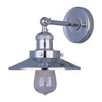 Maxim Lighting Mini Hi-Bay 1 Light Wall Sconce in Polished Nickel 25060PN