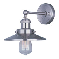 Maxim 25060SN/BUI Mini Hi-Bay 1 Light 8 inch Satin Nickel Wall Sconce Wall Light in With Bulb