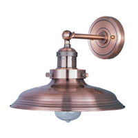 Maxim Lighting Mini Hi-Bay 1 Light Wall Sconce in Antique Copper 25062ACP/BUI