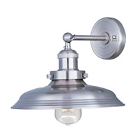 Maxim 25062SN Mini Hi-Bay 1 Light 11 inch Satin Nickel Wall Sconce Wall Light in Without Bulb photo thumbnail