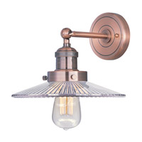 Maxim Lighting Mini Hi-Bay 1 Light Wall Sconce in Antique Copper 25065CLACP/BUI