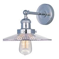 Maxim Lighting Mini Hi-Bay 1 Light Wall Sconce in Polished Nickel 25065CLPN/BUI