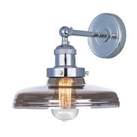 Maxim Lighting Mini Hi-Bay 1 Light Wall Sconce in Polished Nickel 25067MSKPN