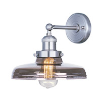 Maxim 25067MSKSN Mini Hi-Bay 1 Light 10 inch Satin Nickel Wall Sconce Wall Light in Without Bulb
