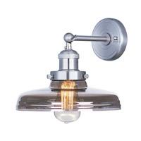Maxim 25067MSKSN/BUI Mini Hi-Bay 1 Light 10 inch Satin Nickel Wall Sconce Wall Light in With Bulb