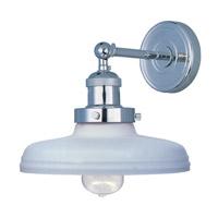 Maxim Lighting Mini Hi-Bay 1 Light Wall Sconce in Polished Nickel 25067SWPN/BUI