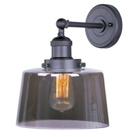 Maxim Lighting Mini Hi-Bay 1 Light Wall Sconce in Bronze 25069MSKBZ/BUI