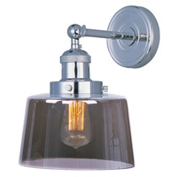 Maxim Lighting Mini Hi-Bay 1 Light Wall Sconce in Polished Nickel 25069MSKPN/BUI
