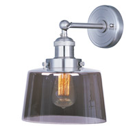 Maxim Lighting Mini Hi-Bay 1 Light Wall Sconce in Satin Nickel 25069MSKSN/BUI
