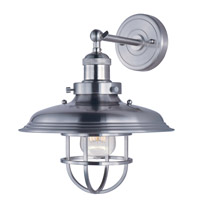 Maxim Lighting Mini Hi-Bay 1 Light Wall Sconce in Satin Nickel 25071SN