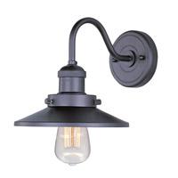 Maxim Lighting Mini Hi-Bay 1 Light Wall Sconce in Bronze 25080BZ