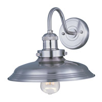 Maxim 25082SN Mini Hi-Bay 1 Light 11 inch Satin Nickel Wall Sconce Wall Light in Without Bulb
