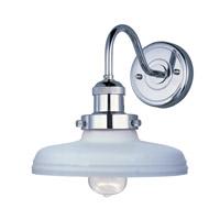 Maxim Lighting Mini Hi-Bay 1 Light Wall Sconce in Polished Nickel 25087SWPN/BUI