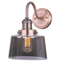 Maxim Lighting Mini Hi-Bay 1 Light Wall Sconce in Antique Copper 25089MSKACP/BUI