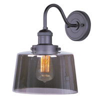 Maxim Lighting Mini Hi-Bay 1 Light Wall Sconce in Bronze 25089MSKBZ/BUI