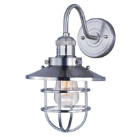 Maxim Lighting Mini Hi-Bay 1 Light Wall Sconce in Satin Nickel 25090SN