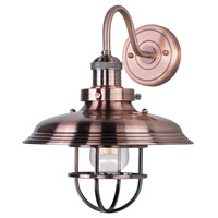 Maxim Lighting Mini Hi-Bay 1 Light Wall Sconce in Antique Copper 25091ACP