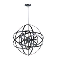 Maxim 25130BR Sputnik 6 Light 19 inch Bronze Rupert Single Pendant Ceiling Light