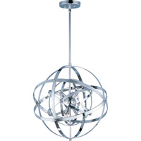 Maxim 25130PC Sputnik 6 Light 19 inch Polished Chrome Single Pendant Ceiling Light