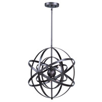 Sputnik 9 Light 25 inch Bronze Rupert Single Pendant Ceiling Light in 40