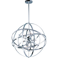 Maxim 25133PC Sputnik 9 Light 25 inch Polished Chrome Single Pendant Ceiling Light in 60