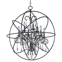 Maxim 25145OI Orbit 9 Light 30 inch Oil Rubbed Bronze Single-Tier Chandelier Ceiling Light