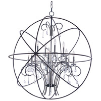 Maxim 25147ARPN Orbit 12 Light 40 inch Anthracite and Polished Nickel Single Pendant Ceiling Light