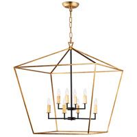 Gold Maxim Chandeliers