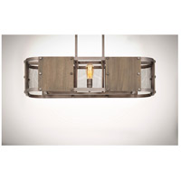 Maxim 25268BWWZ Outland 6 Light 38 inch Barn Wood and Weathered Zinc Linear Pendant Ceiling Light alternative photo thumbnail