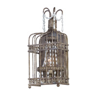 Gisele 1 Light 8 inch Antique Terra Wall Sconce Wall Light