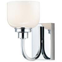 Maxim 26061WTPC Swale 1 Light 6 inch Polished Chrome Bath Vanity Wall Light