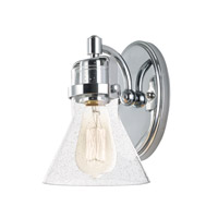 Maxim 26111CDPC Seafarer 1 Light 6 inch Polished Chrome Wall Sconce Wall Light in Without Bulb