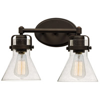 Maxim 26112CDOI Seafarer 2 Light 15 inch Oil Rubbed Bronze Bath Vanity Wall Light in Without Bulb photo thumbnail